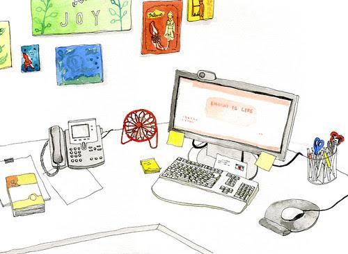 Diana's Desk