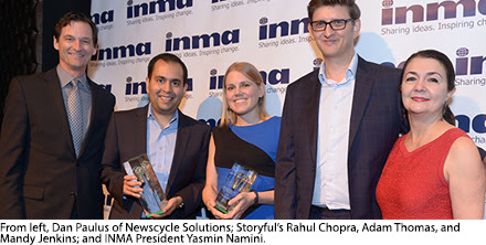 Storyful captures INMA Global Innovation Award worldwide prize
