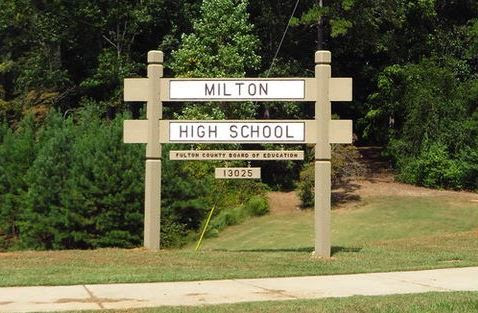 Southern Living Magazine Milton High School Beauty - North Fulton Georgia