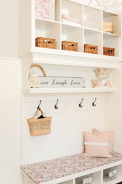 Organized Mudrooms, Foyers & Laundry Rooms - My Uncommon Slice of Suburbia
