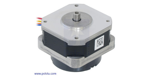 Pololu - Sanyo pancake stepper motors with encoders