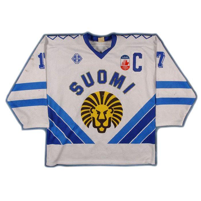 Finland 1991 Kurri jersey