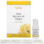 GiGi Hair Removal Strips for The Face 1 oz by Pharmapacks