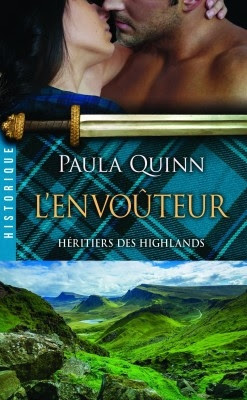 Couverture Héritiers des Highlands, tome 3 : L'envoûteur