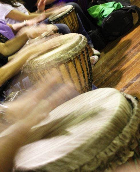Hand Drumming Wednesdays - Mixed-Level - May 30 start (8 weeks)