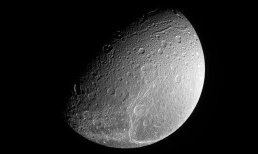 North pole of Dione