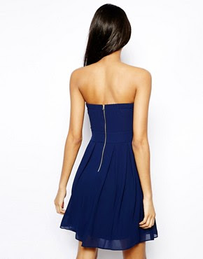 Image 2 ofTFNC Dress With Plunge Bustier