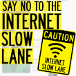 They're creating an Internet slow lane