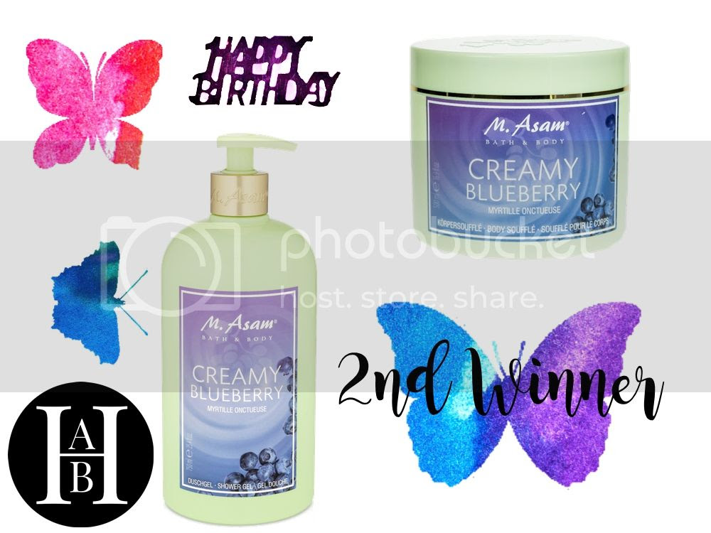 2nd price - blog birthday giveaway