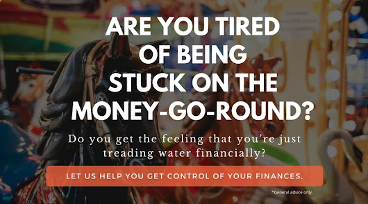 Stuck on the money-go-round? - Clientcomm websites for Financial Advisers