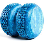 Power Systems 80675 Textured 6 Inch Myo-Roller Massage Therapy Aid, Blue Marble by VM Express