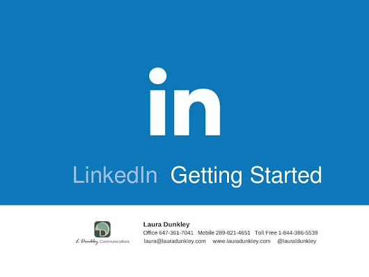 LinkedIn Workshop Getting Started