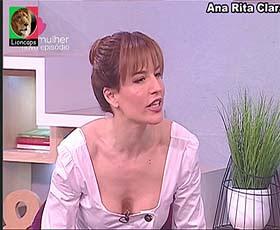 Ana Rita Clara sensual no Faz Sentido