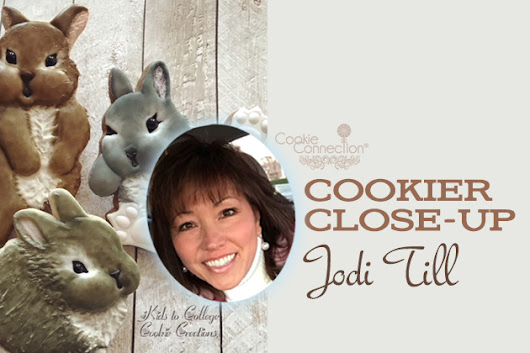Cookier Close-up with Jodi Till, CookieCon 2018 Instructor | Cookie Connection