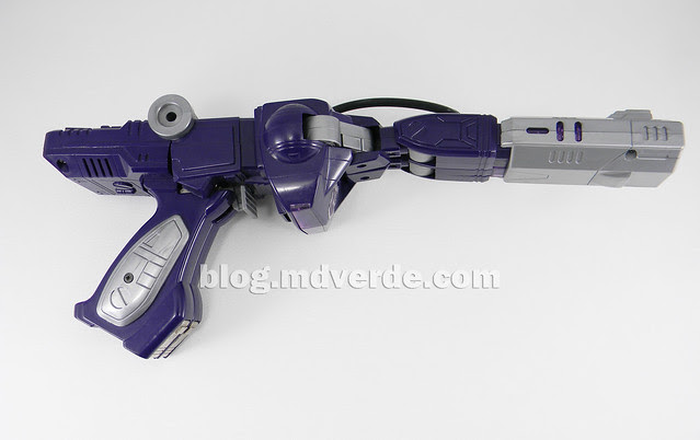 Transformers Shockwave G1 - modo alterno