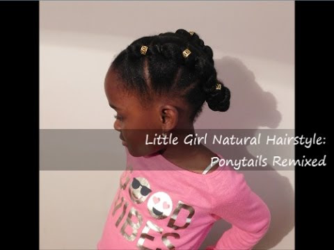 Little Girl Natural Hairstyle + 1st Impressions on NEW Eco Styler