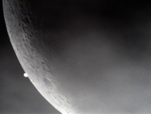 Lunar Venus occultation, 2015-12-07