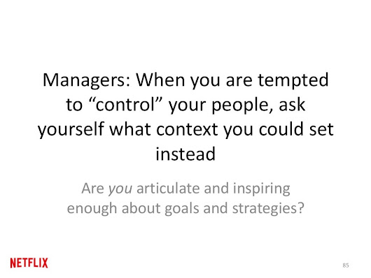 Why Managing Through Context? High