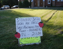 Strawberry Social, Ormstown