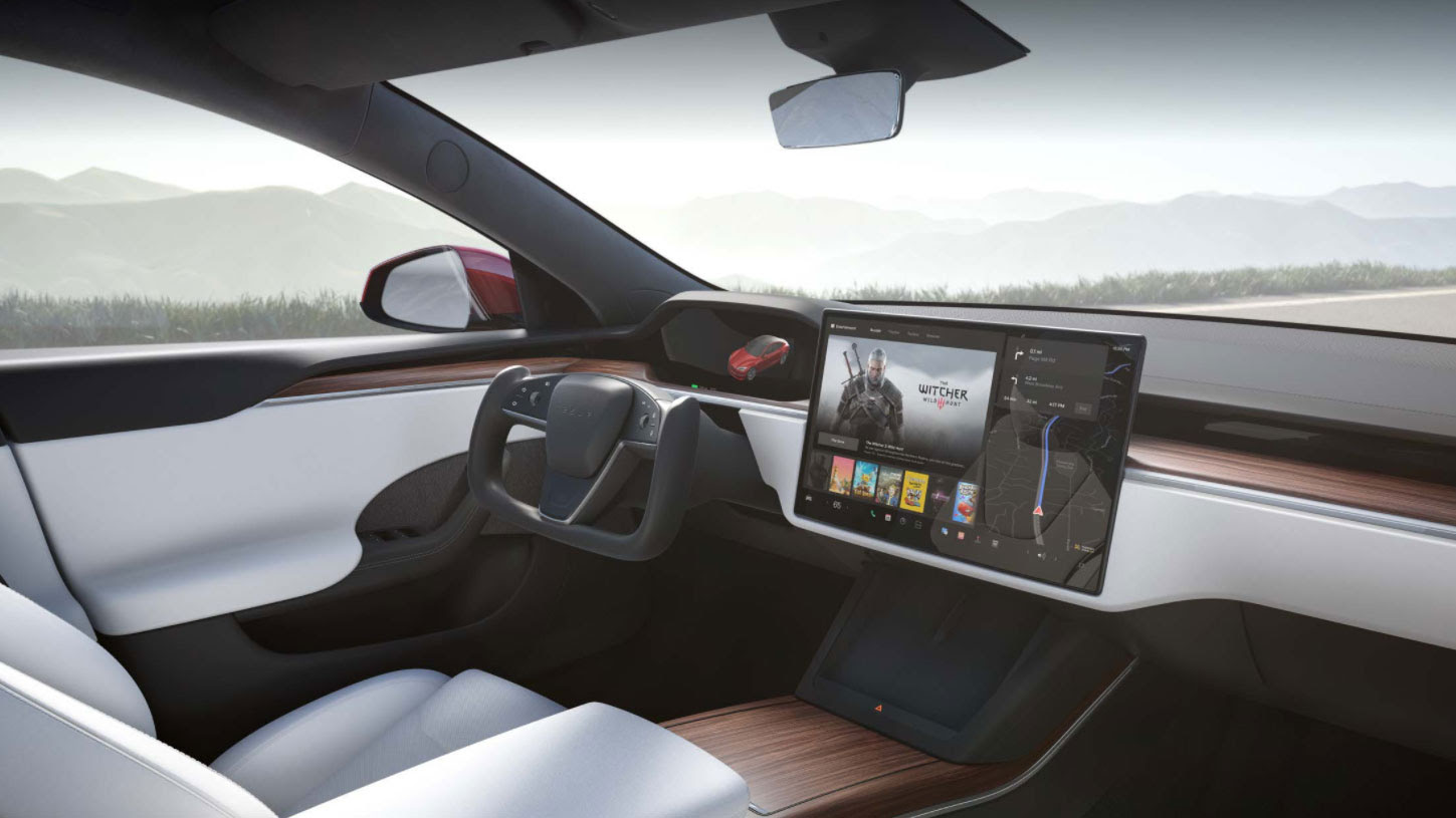 'Crazy fast' Tesla Model S Plaid is now on roads, and it plays PS5-level games