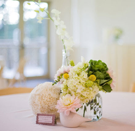 bride.ca | Simple and Beautiful DIY Centrepiece