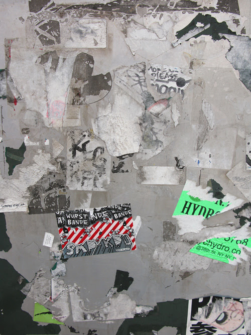 sticker remains in Manhattan, NYC