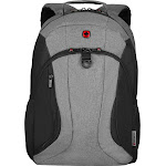 "Wenger - Backpack for 16"" Laptop - Black/Heather"
