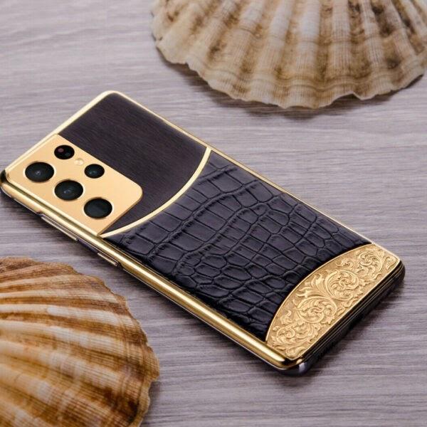 24ct gold SAMSUNG Galaxy S21 Ultra Unique Edition