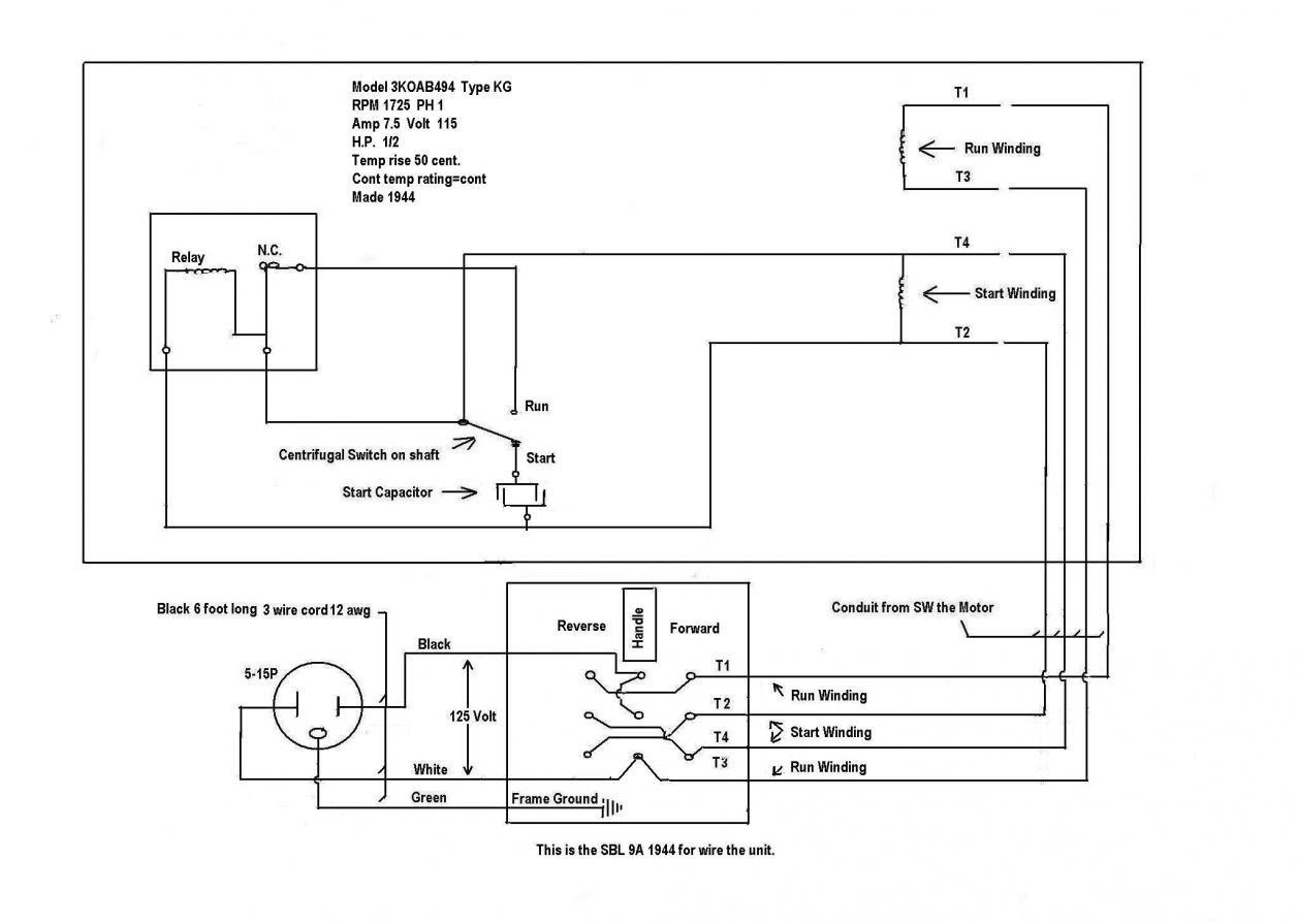 Wiring Diagram  27 Ge Electric Motor Wiring Diagram