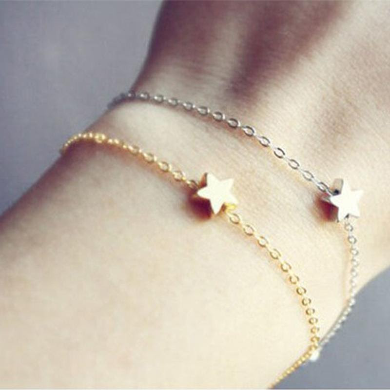 women girl beauty jewelry gift gold silver plated