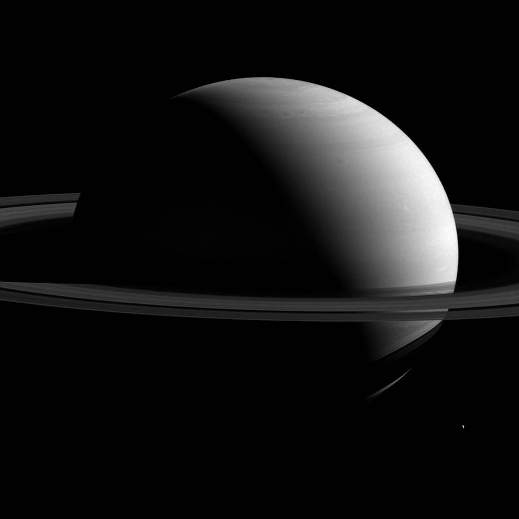Espectacular imagen de Saturno en todo su esplendor