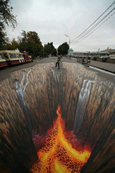 Bir Birinden Güzel 3 Boyutlu Sokak Boyama Sanatı