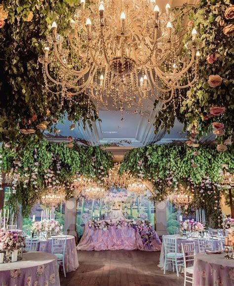?What about taking enchanted forest to an indoor wedding