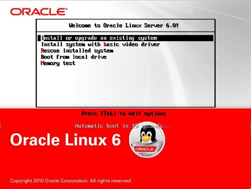 Oracle Linux 6 Installation