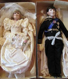 Lady Anne Dolls Diana and Charles   Royal Family Dolls