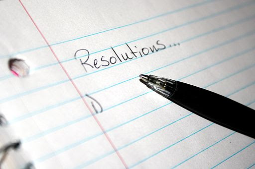 New-Year Resolutions list