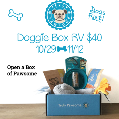 Truly Pawsome Giveaway. Ends 11/12