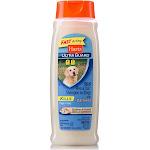 Hartz Ultra Guard Rid Flea & Tick Shampoo, for Dogs, with Oatmeal, Rich Vanilla Fragrance - 18 fl oz