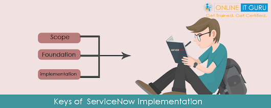 Keys of servicenow implementation