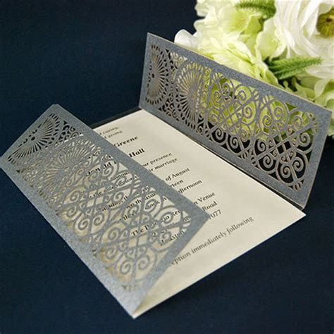 100pcs beautiful design party invitation card wedding card