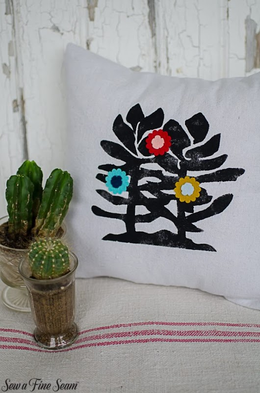 Succulent and Cacti pillow designs