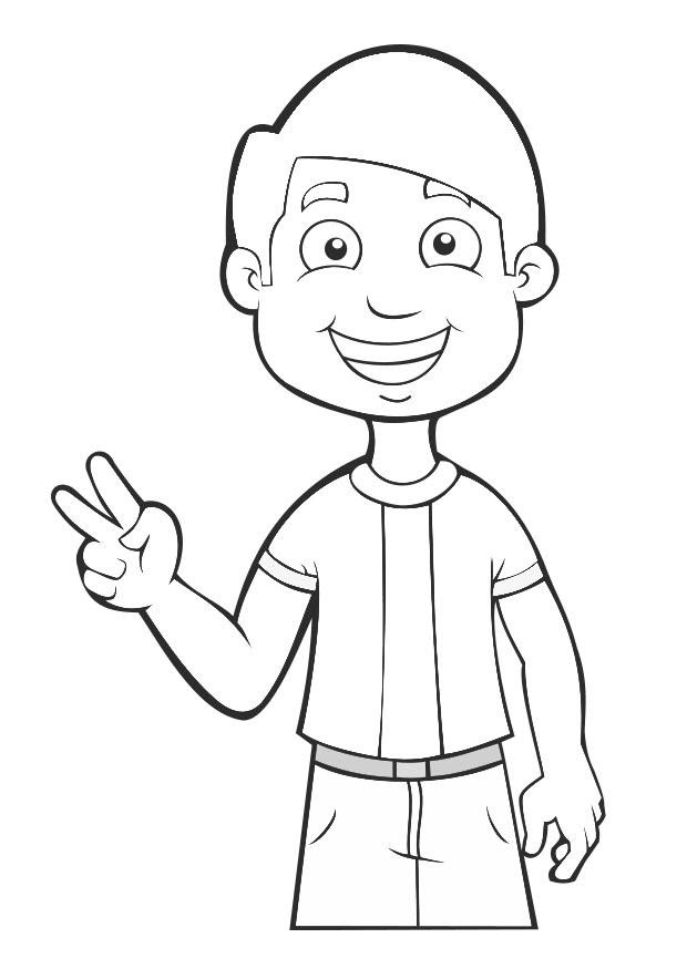 Nino Triste Colouring Pages Az Dibujos Para Colorear