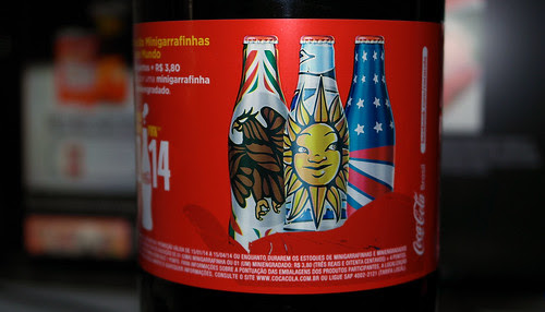 2014 FIFA WORLD CUP COCA-COLA 2 L PROMO METAL BOTTLES ITALY ARGENTINA USA-BRAZIL by roitberg