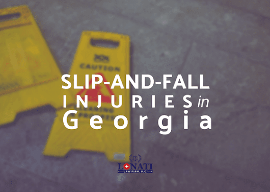 Slip-And-Fall Injuries in Georgia: 3 Important Things To Know