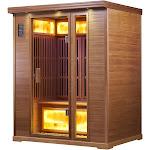 Infrared Sauna - 3 Person Reflect Red Cedar