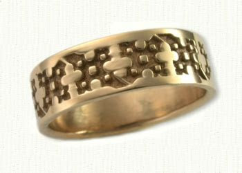 Florentine Wedding Rings & custom Wedding Bands