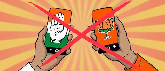 I'm youth of India and I'm tired of both bjp and congress