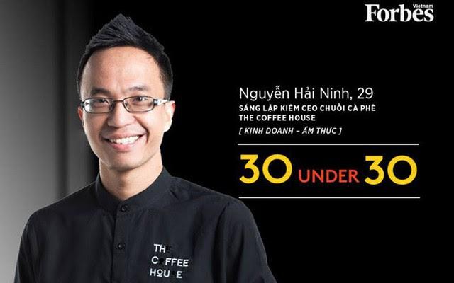 Nguyễn Hải Ninh, 29 tuổi, là nhà sáng lập của 2 chuỗi cửa hàng cà phê nổi tiếng tại Việt Nam - Urban Station và The Coffee House