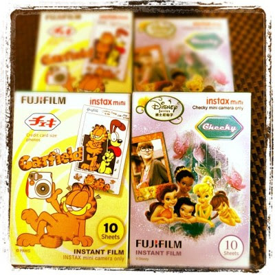 More films.:X but these are really too pretty to miss!:D  (Taken with Instagram)