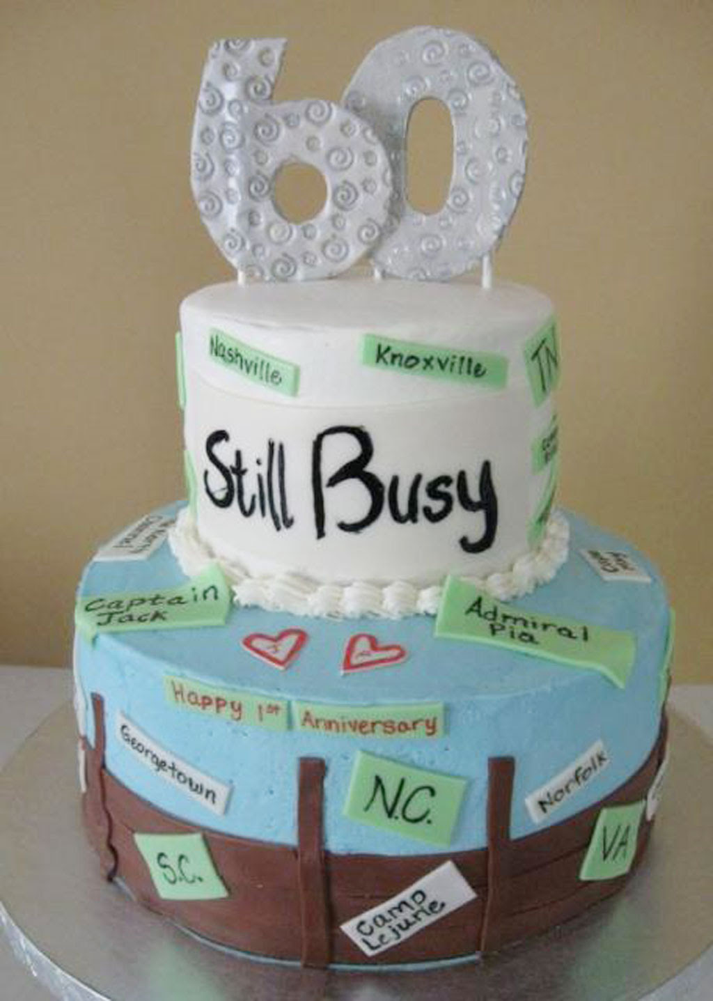 60th Birthday Cake Ideas For Women 1 Birthday Cake - Cake Ideas by Prayface.net